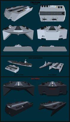 Aircraft Carrier - TRITON by G-Jenkins on DeviantArt