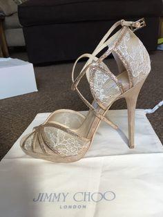 New With Box Jimmy Choo Wedding Heels