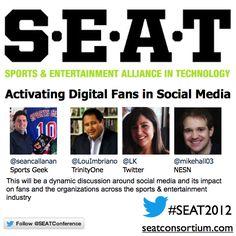 #SEAT2012 - Activating digital fans in Social Media