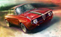Alfa Romeo 1300 by luciano cianni c