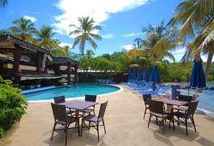 Bolongo Bay Beach Resort, St. Thomas, USVI, All Inclusive Resort, Caribbean Vacation, The Lobster Grille Restaurant, Pooldeck. http://www.bolongobay.com