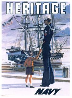 My mother and father were both Navy. This poster I remember hanging in my mother's recruiting office in Great Falls, MT. There are some details you never forget.