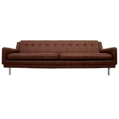 1stdibs   Mid+Century+Modern+Sofa+Clean+Lines+Milo+Baughman+Attr