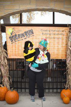 precious bee and flowers running costume - Wheeler Farm Halloween