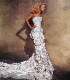 Wedding dress by Alex Perry