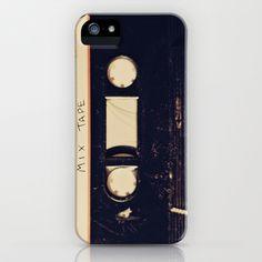 mix+tape+iPhone+&+iPod+Case+by+Marianne+LoMonaco+-+$35.00
