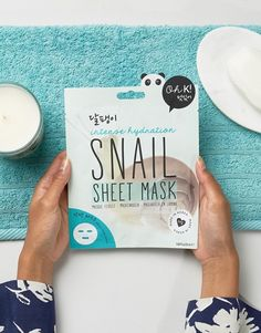 Kyli Jenners Fave Sheet Mask - Oh K! Intense Hydration Snail Mucin & Seaweed Fibre Mask