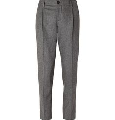 Brunello Cucinelli Slim-Fit Wool Trousers