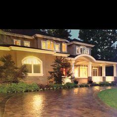 Nice home smith semi circle driveway.