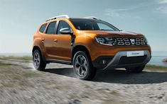 Download wallpapers 4k, Dacia Duster, offorad, 2018 cars, new Duster, crossovers, Dacia
