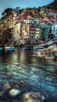 ✿ ❤ Riomaggiore Italy...