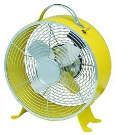 BLINKY VENTILATORE DA TAVOLO MOD. GIOVE GIALLO DIAM. CM. 20 http://www.decariashop.it/ventilatori/2340-blinky-ventilatore-da-tavolo-mod-giove-giallo-diam-cm-20.html