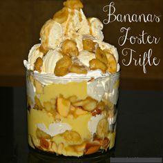 Bananas Foster Trifle ~ 3recipes.com