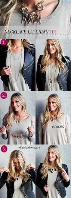 How to Layer Necklaces - Devon Rachel