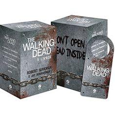 Livro - Box The Walking Dead (5 Volumes) + Brinde