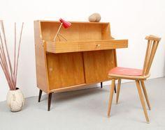 Bureau vintage en métal et formica 1960 bureaus vintage and