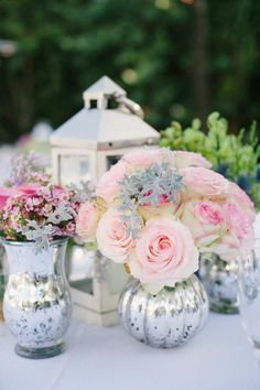 wedding centerpiece idea; photo: Katie Lopez Photography