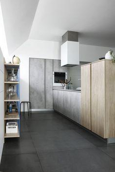 Fitted #kitchen with peninsula MILA 04 by CESAR ARREDAMENTI   #design Gian Vittorio Plazzogna @cesarcucine