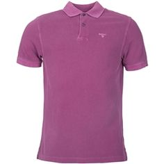 New for 2016 Barbour Washed Sports Polo Shirt - Plum Sports Polo Shirts, Barbour Mens, Barbour International, Heritage Brands, Fashion Forward, Plum, Polo Ralph Lauren, Suits, Mens Tops