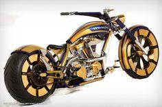 Paul Jr. Designs Newmont Mining Bike