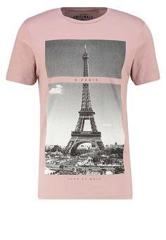 JORSTRIKE SLIM FIT - Print T-shirt - deauville mauve - meta.domain
