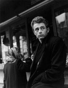 James Dean - Black Coat 1954