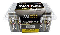 Rayovac Batteries ALAA-24F Ultra Pro AA Alkaline Batteries, AA (Pack of 24) #Rayovac #Batteries #ALAA #Ultra #Alkaline #Batteries, #(Pack