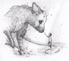 Apprehension - The Last Guardian Fanart by Tvonn9.deviantart.com on @DeviantArt