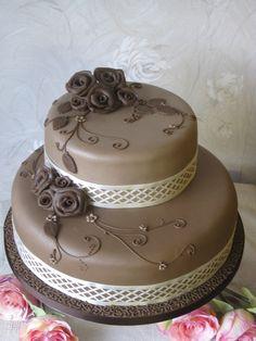 Chocolate Roses Wedding Cake - Chocolate Roses Wedding Cake  Repinly Food & Drink Popular Pins