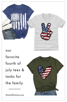 12 of Our Favorite Fourth of July Tees for the Family   MomsWhoSave.com   #deals #FourthofJuly #IndependenceDay