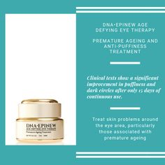 For puffiness and dark circles! Hydrating Eye Cream, Skin Problems, Dark Circles, Dna, Anti Aging, Therapy, Personal Care, Eyes, Beauty