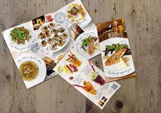 Осеннее меню ресторана Нектарин (nice menu restaurant cafe design ad beautiful)