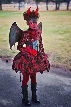 Little Devil devil costume, halloween costume, devil makeup, kids costume, devil, costume