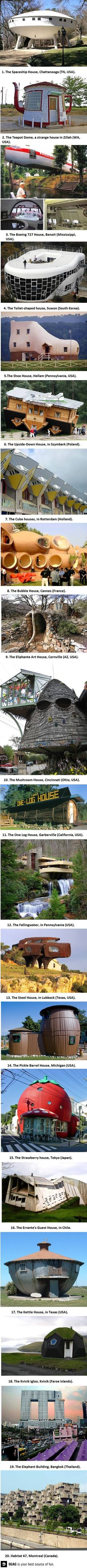 weird awesome places