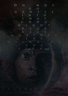 Interstellar poster I created