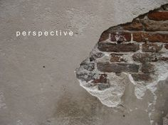 Perspective, can you see the Lion in the Wall: by YES Psychology & Consulting. photo taken by Kash Thomson. www.yespsychology.com.au