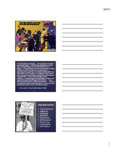 The Harlem Renaissance (Lesson Presentation) Us History, Black History, African American Art, American History, 9th Grade English, History Activities, Harlem Renaissance, Gilded Age, Arts Ed