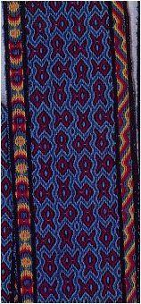 tablet weaving, Brettchenweben, Patterns for Hexagonal Tablets