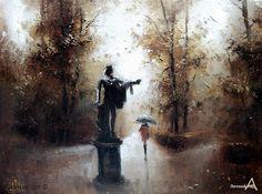 Персональная галерея работ и картин для продажи художника Медведев Игорь Витальевич - заказ картин галерея живописи купить картину