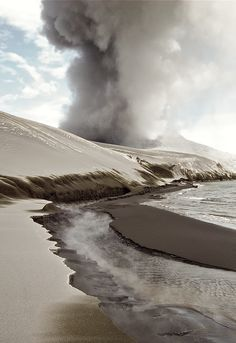 volcanic ash dunes by Taro Taylor