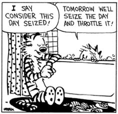 """Calvin and Hobbes 