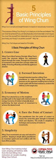 5 Basic Principles of Wing Chun                                                                                                                                                                                 More