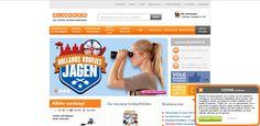 Deze website is concurrentie van de Ikea, want deze site heeft net als de Ikea het logo linksboven, de zoek balk ernaast. Een andere balk eronder en daar onder weer producten/ reclame.