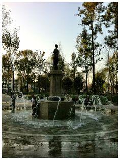 """Alameda central de la Ciudad de México """"Fuentes"""" 2012"""
