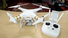 Best DRONE?  DJI Phantom 3 Professional Unboxing and Sniff Test