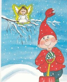 Virpi Pekkala Christmas Cards, Xmas, Winter Pictures, Small Paintings, Winter Art, Whimsical Art, Doll Face, Finland, Illustrators