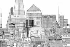 Image result for london building sketches and drawings