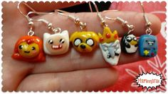 Adventure Time earrings