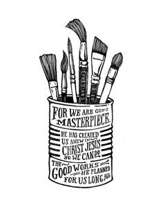 God's Masterpiece Black & White Print by quietboystudio on Etsy