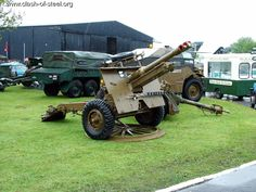 Clash of Steel, Image gallery - British 25 pounder Gun and Morris C8 Quad Tractor